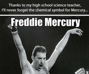 Freddie... Rtęć?