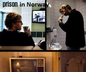 Norweskie więzienie vs. Amerykański hotel