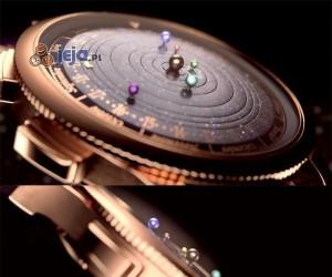 Zegarek z Układem Słonecznym