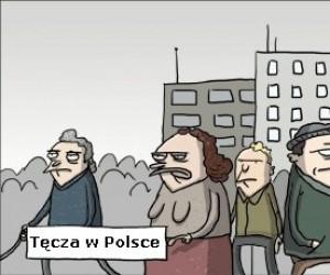Tęcza w Polsce