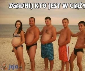 Zgadnij kto jest w ciąży?