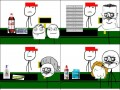 Praca na kasie