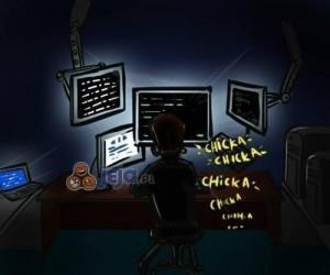 Czym zajmuje się haker po godzinach?