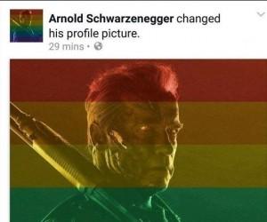 Arnold ripostuje