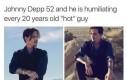 Johnny Depp kontra młode modnisie