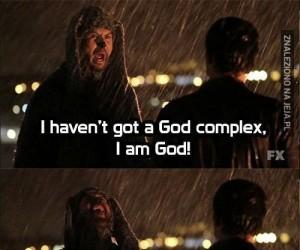 Ja jestem Bogiem!