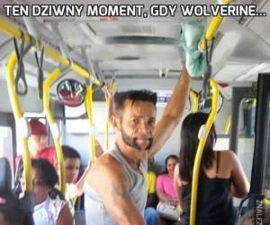 Ten dziwny moment, gdy Wolverine...