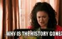 Dlaczego historia zniknęła?