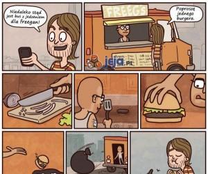 Fregańskie jedzenie