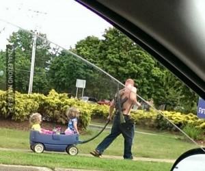 Wzorowy amerykański ojciec