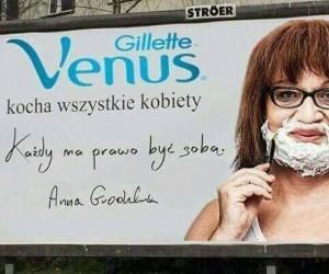 Kolejna reklama Gillette
