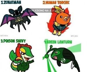 Poke-wersje superbohaterów