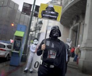 Vader, wracaj do domu! Jesteś pijany!