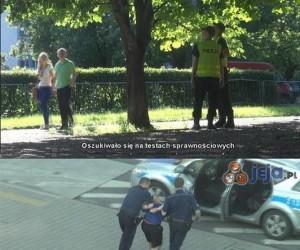 SA Wardęga i policja