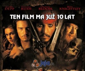 Piraci z Karaibów mają już 10 lat