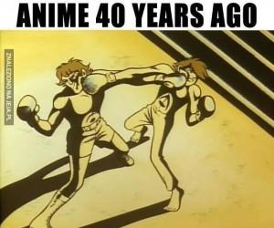 Anime kiedyś i dziś