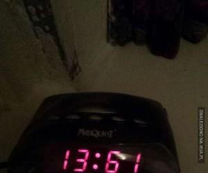 Chyba zepsułem budzik...