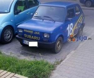 Subaru dla ubogich