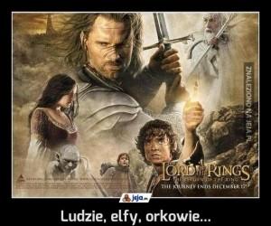 Ludzie, elfy, orkowie...