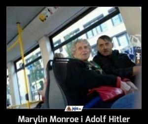 Marylin Monroe i Adolf Hitler