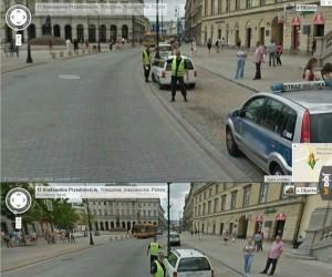 Google Map Car zatrzymany