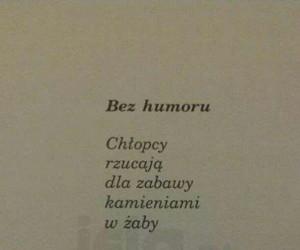Poezja dająca do myślenia