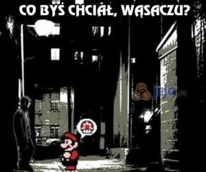 Mario z wizytą u dilera