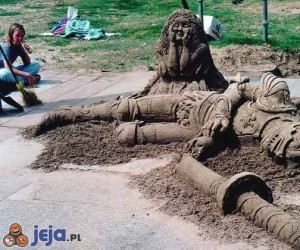 Rycerz z piasku