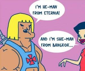 He-Man, uważaj!