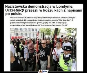 ''Polska dla Polaków, Anglia dla Anglików i Polaków''