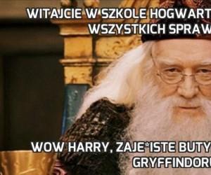 Witajcie w szkole hogwartu, która jest dla wszystkich sprawiedliwa
