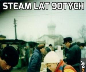 Steam lat 90tych