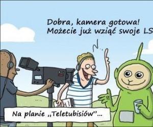 Na planie Teletubisiów