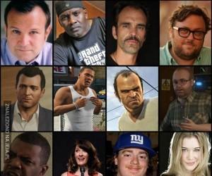 Aktorzy którzy użyczyli głosu postaciom z GTA V