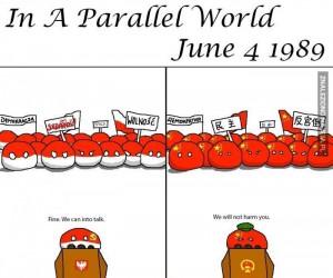 W równoległych światach - 4 VI 1989