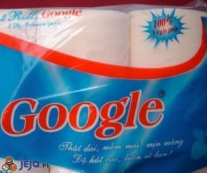 Tanie podróbki - Google