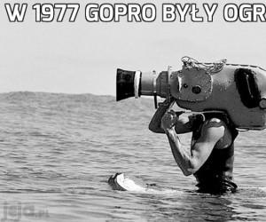 W 1977 GoPro były ogromne