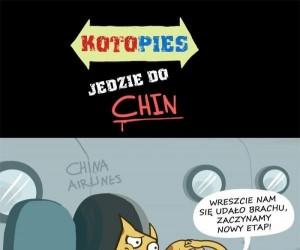Kotopies leci do Chin!