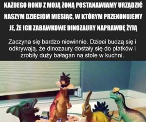 Przygody dinozaurów