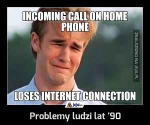 Problemy ludzi lat '90