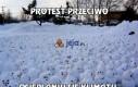 Protest przeciwko ocieplaniu się klimatu