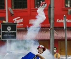 Tymczasem na protestach w Hongkongu