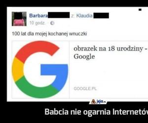 Babcia nie ogarnia Internetów