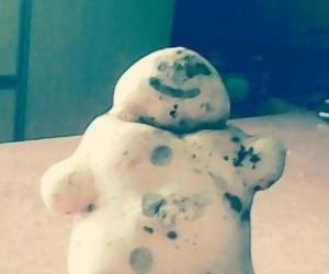 Ziemniak-bałwanek