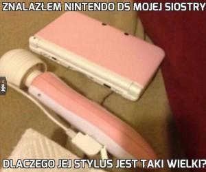 Znalazłem Nintendo DS mojej siostry