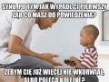 Młody szybko się uczy