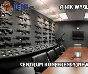 A jak wygląda centrum konferencyjne w Twojej firmie?