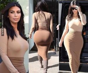 Tajemnica Kim Kardashian...