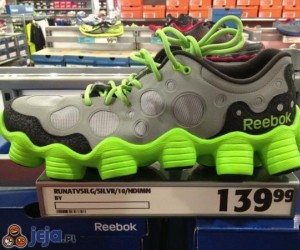 Buty robią się coraz śmieszniejsze...