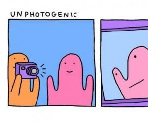 Niefotogeniczny